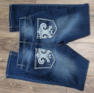 Est 1946 Classic Jeans (Size 2P) with Embroidery